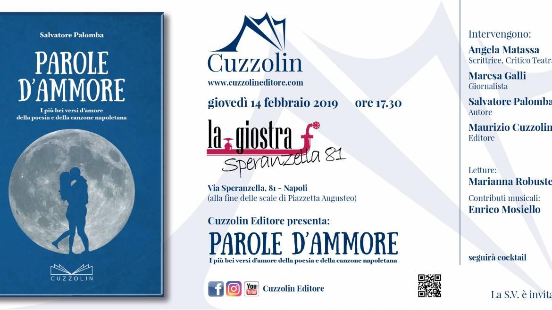 Parole d'ammore: evento al teatro la Giostra con il maestro Palomba