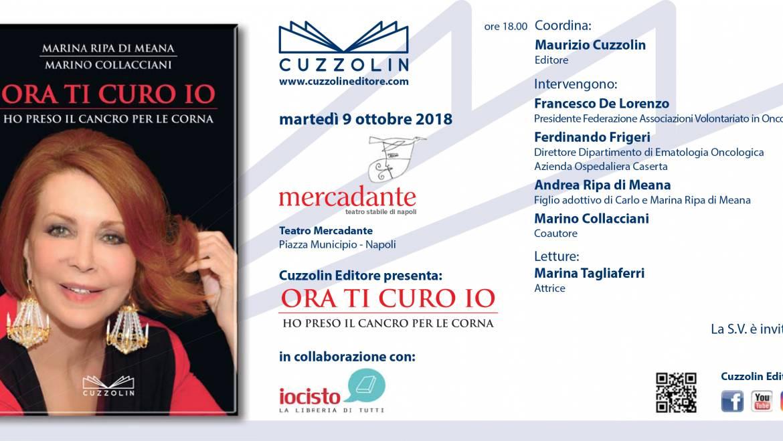 Ora ti curo Io: presentazione al Teatro Mercadante di Napoli