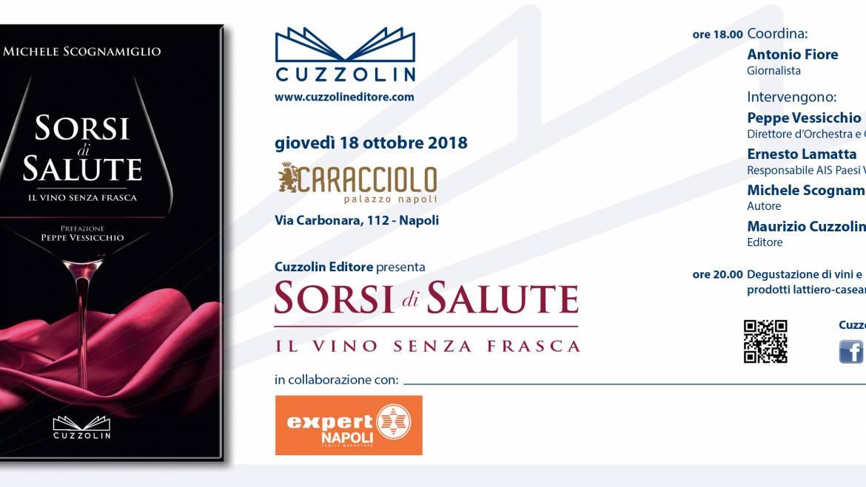 Sorsi di Salute. Presentazione al Palazzo Caracciolo, Napoli